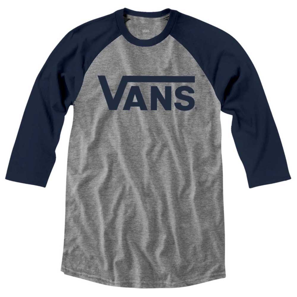 Vans Classic Raglan XXL Athletic Heather / Dress Blues - Ropa Deporte